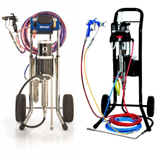 Air Assisted Airless Packages