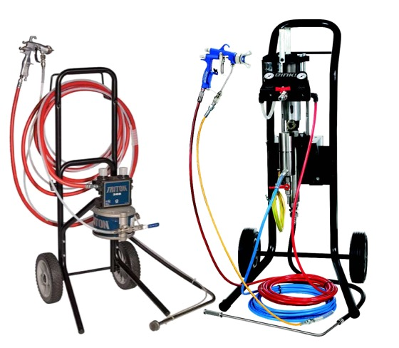 Conventional Spray Equipment