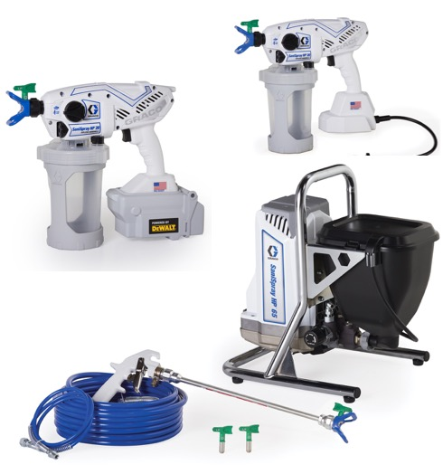 Graco Sanitiser Sprayers