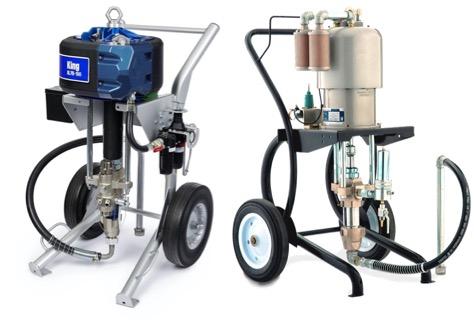 Air Driven Airless Spray Pumps