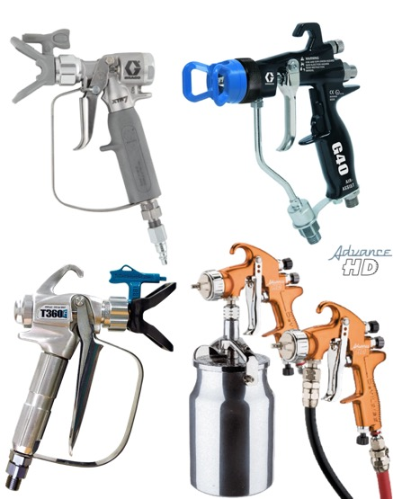 Spray Guns & Spares