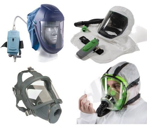 Spraying PPE