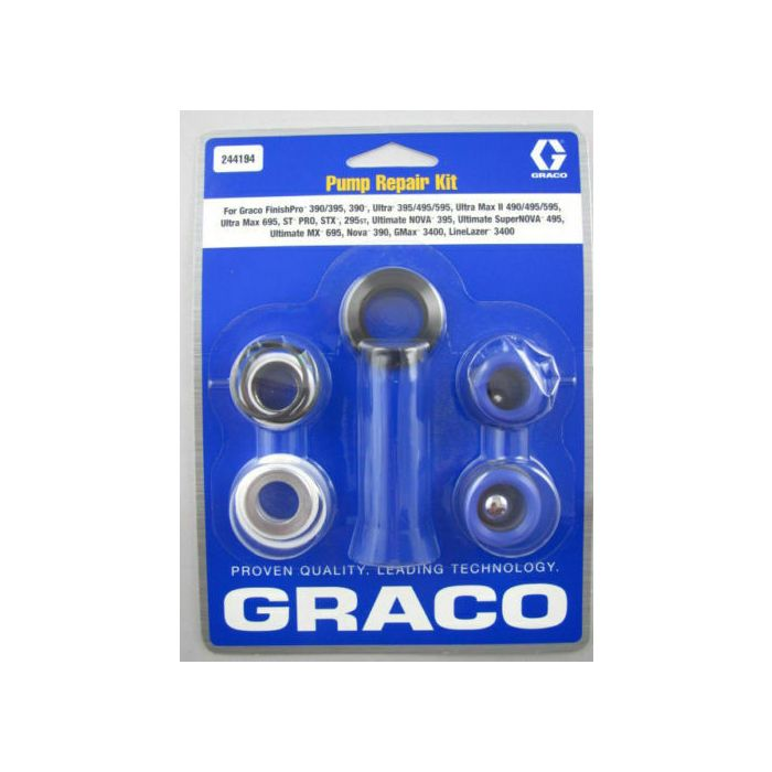 Graco 1595, Mark V and 5900 Wet end repair kit - 248213