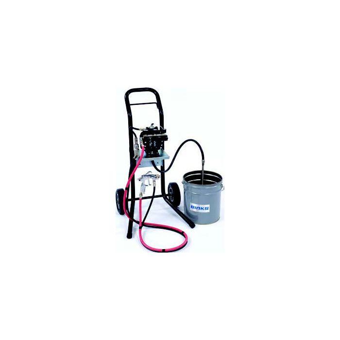 Binks DX70 Diaphragm Pump package