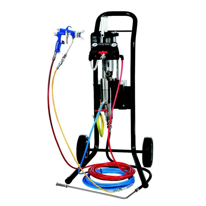 Binks Air Assisted Airless Spray Pump package 31:1 ratio