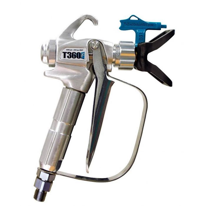 Tritech T360 Contractor Spray Gun  (Airless) - 3,625 psi